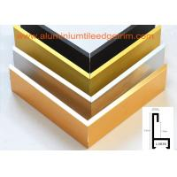 Buy cheap Decorative Aluminium Picture Frame Mouldings Extrusions , Aluminium Picture Frame Profiles from wholesalers