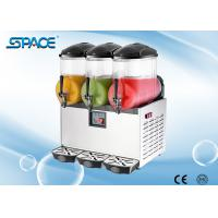 Buy cheap 220V Triple Heads Frozen Granita Slush Machine 3x12L Output Food Grade Materials from wholesalers