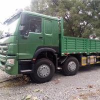 Buy cheap Long Distance Cargo Transport Truck 8x4 With Single Line Air Assisted Brake System from wholesalers