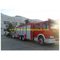 Buy cheap Sinotruk Howo Water Tank 12000L Fire Engine Truck with warranty from wholesalers