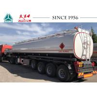 Buy cheap ADR Standard Fuel Tanker Trailer 45000 Liters Capacity With Airbag And Lifting from wholesalers