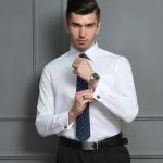 Buy cheap Machine Washable Custom Logo Shirts Personalized Business Shirts Long Sleeve Pattern from wholesalers