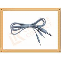 Buy cheap 6.35 TO 2.0 Tens Unit Cables  2 Pin Y Type Medial Tens EMS Cable Lead Wire from wholesalers