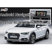 Buy cheap AUDI A4 Car Android Auto Interface Upgrade System With Rear Parking Guideline from wholesalers