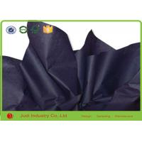 Buy cheap Clothes Packing Bulk Colored Tissue Paper Wholesale Black Color Gravure Printing from wholesalers