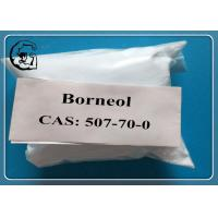 Buy cheap Nature Borneol Oral Anabolic Steroids CAS 507-70-0  MF C10H18O white powder from wholesalers