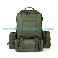 Buy cheap Logo - printing  camping gear backpack with Rugged internal aluminum frame from wholesalers