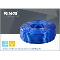 Buy cheap HBVB Polypropylene Insulated , PVC Sheath Oblate Telephone Wire from wholesalers