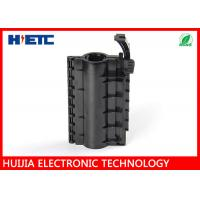 """Buy cheap Black Outdoor Fiber Splice Enclosure For 7/8"""" Feeder Cable To Grounding Cable product"""