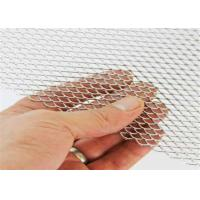 Buy cheap 1.8mm Thickness Galvanized treatment Diamond type Expanded Metal Mesh Sheet from wholesalers