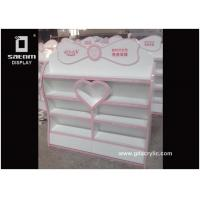 Buy cheap Floor Standing Cosmetic Store Display Fixtures Retail Racking And Shelving from wholesalers