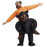 Buy cheap Riding Gorilla Adult Inflatable Costumes Boys Girls For Festival from wholesalers