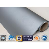 Buy cheap 900Gsm 0.9mm Silicone Coated Fiberglass Fabric , Heat Resistant Silicone Coated Glass Cloth from wholesalers