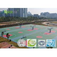 Buy cheap Weatherproof Multi Purpose Outdoor Sports Courts Futsal Court Flooring Rubber Covering from wholesalers