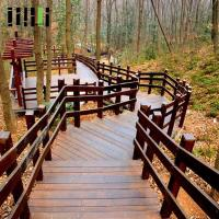Buy cheap Anti Slip Bamboo Handrail Flooring Mounted Installation For Stair from wholesalers