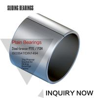 Buy cheap Stainless Steel Ptfe / Kevlar Fabric Lined Split 316 Composite Bearings Flanged Bushes from wholesalers