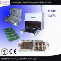 Buy cheap Stainless Steel Rigid Flex PCB cutting machine / Depaneling Machine from wholesalers
