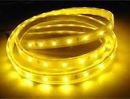 Buy cheap 5050 SMD IP65 Waterproof 150 LEDs Yellow Flexible Led Strip Lighting 5m 12v SMD Led Strips from wholesalers