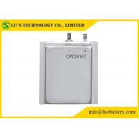 Buy cheap Limno2 Primary Ultra Thin Battery For Radio Alarm Equipment / Sensors CP224147 from wholesalers