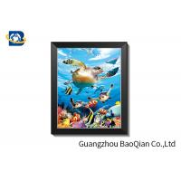 Buy cheap 0.6mm PET + Pearl Film 3D Lenticular Pictures With PVC Frame from wholesalers