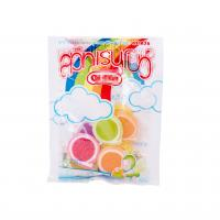 Buy cheap Soft Sweets Sugar Packing Bags With Clear Window Custom Full Color Printing from wholesalers