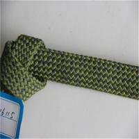 Buy cheap Green Polyester Outdoor Furniture Rope , Braided Twisted Webbing With Core Inside from wholesalers