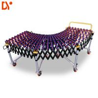 Buy cheap Warehouse Roller Conveyor System Gravity Flexible Roller Conveyor With Skate Wheels from wholesalers