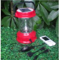 Buy cheap Functional Solar Camping Lamp ST03FC for Area no power (With phone charger) from wholesalers