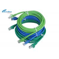 Buy cheap Blue UTP CAT 5e Network Patch Cord High Precision Optional Cable Color 0.3m-30m from wholesalers