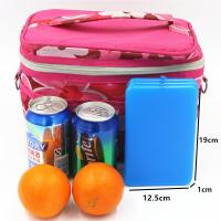 Buy cheap OEM Reusable Lunch Chiller Ice Brick Ultra Thin Ice Pack With Cooling Gel from wholesalers