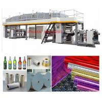 Buy cheap Fabric / Copper foil Adhesive Label Coating Machine 100-150m/min from wholesalers