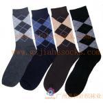 Buy cheap Knitted Sock Patterns For Men Custom Cotton Socks from wholesalers