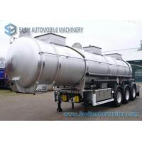 Buy cheap Lifting Axle 6 Tires Aluminum chemical trailers 22000 Liters from wholesalers