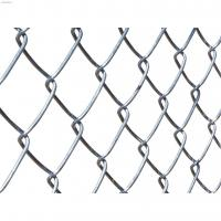 Buy cheap Hot Dipped Galvanized Custom Wire Mesh Easily Assembled Chain Link Fence For Sports Field from wholesalers