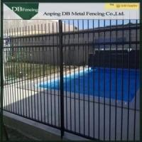 Buy cheap Multi Function Strong Iron Steel Picket Fence , PVC Coated Metal Picket Fence from wholesalers