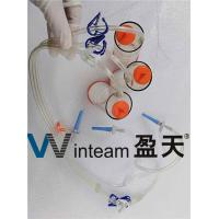 Buy cheap PVC Parallel Conduit Sterility Test Canister Smooth Welding For Laboratory from wholesalers
