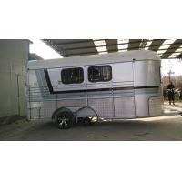Buy cheap 2 stright horse float trailer made in China, horse float, 2 horse trailerwith best price, China horse trailer with cheap from wholesalers