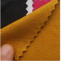 Buy cheap Plain coloured faux suede from wholesalers