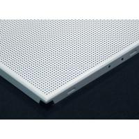Buy cheap Environmental Square  Clip In Ceiling Tiles , Metal acoustic ceiling tiles 12x12 from wholesalers