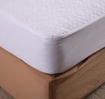 Buy cheap Waterproof Microfiber Memory Foam Mattress Protector Heat Pressing Pattern King Size from wholesalers