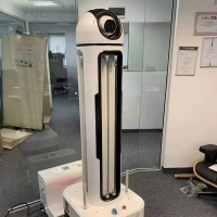 Buy cheap Hospitals Ultraviolet Light Contactless Virus Killing Robot from wholesalers