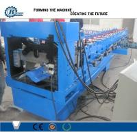 Buy cheap Color Coated Steel Roofing Step Ridge Cap Sheet Making Machine Roller Forming Machine from wholesalers
