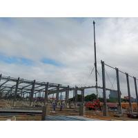 Buy cheap Steel Prefabricated Workshop Buildings / Metal Frame Buildings Size Custom product