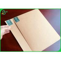 Buy cheap FSC Certified 250GSM Brown Kraft Liner Board For Making Jewelry Packaging Box from wholesalers