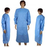 Buy cheap Dressing Disposable Surgical Gown Waterproof For Medical / Industrial Safety from wholesalers