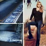 Buy cheap 10.2oz Algodón/Spandex Slub Tela de Denim Elástica para pantalones flacos from wholesalers