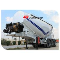 Buy cheap Powder Material Series Cement Bulker Truck , Bulk Tanker Trailers With Bulk Powder Tankers from wholesalers