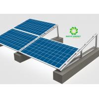 Buy cheap Multi Functional Flat Roof Solar Mounting System / Flat Roof Pv Mounting Systems from wholesalers