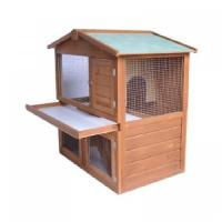 Buy cheap Popular wooden chicken house HF-CC1001 with metal tray from wholesalers
