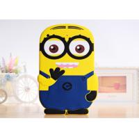 Buy cheap (All iPAD models in stock) iPad 5 Silicon 3D Minions Back Case Cover Soft Cartoon Case from wholesalers